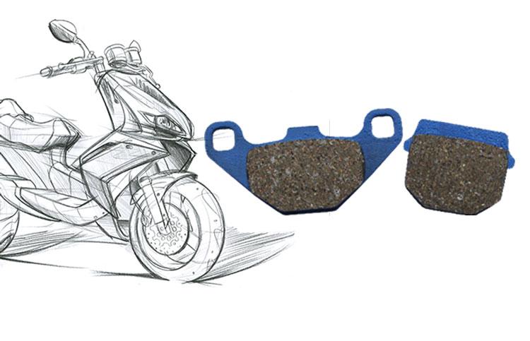 Kočione pločice za skuter