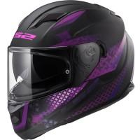LS2-FF320-Stream-Evo-Lux-Full-Face-Ladies-Motorcycle-Helmet-Matt-Black-Pink