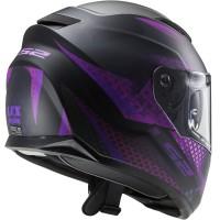 LS2-FF320-Stream-Evo-Lux-Motorbike-Full-Face-Crash-Lid-Matt-Black-Pink