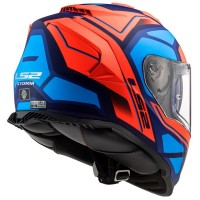 LS2-FF800-Storm-Faster-Orange-Blue-Motorcycle-Helmet-2